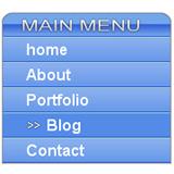 Vertical menu (HTML/CSS)
