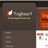 Yoghourt - Free WordPress Theme