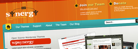 WPSynergy.org - Opensource WordPress Themes